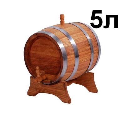 Дубовый бочонок для вина DB1-5