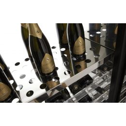 Полка из нержавеющей стали SR5/01 для винных шкафов BRERA