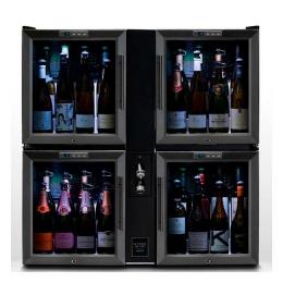 Винный диспенсер для тихого и игристого вина Bermar Quad-Pod Bar BC406