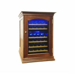 Винный шкаф ColdVine C34-KBF2 деревянный корпус