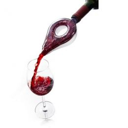 Аэратор для вина VacuVin Wine Aerator Grey