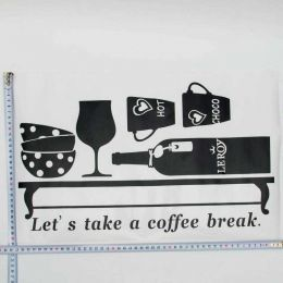 Тематическая наклейка Lets take a coffee break, S-3