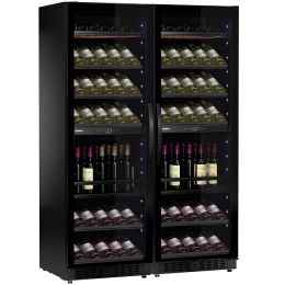 Винный шкаф Dometic E115FG VinoView Double Elegance