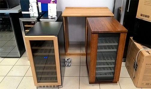 Винные шкафы из дерева