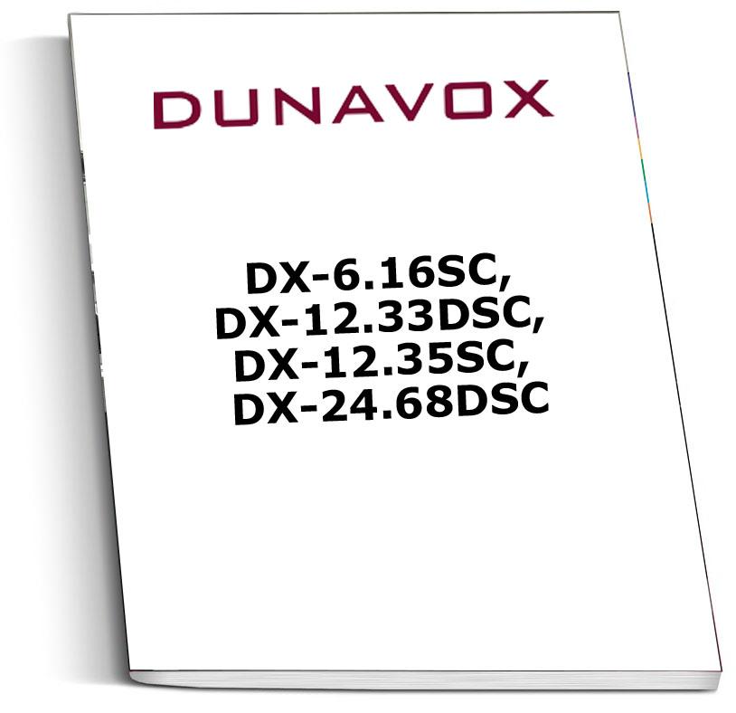 Инструкция к винным шкафам Dunavox DX-6.16SC, DX-12.33DSC, DX-12.35SC, DX-24.68DSC