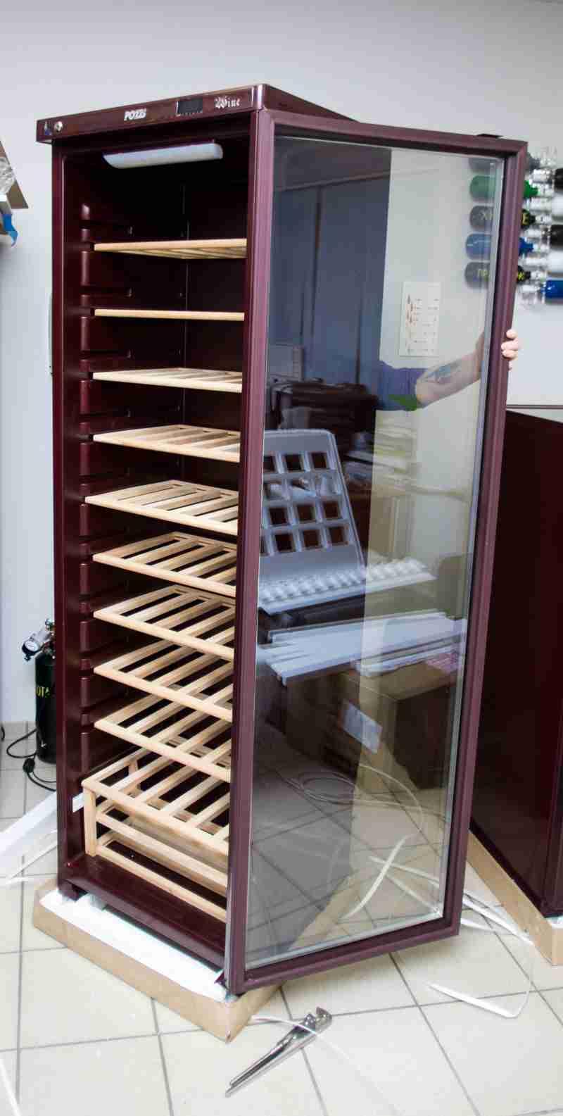 POZIS Wine Ш-120 открываем дверь