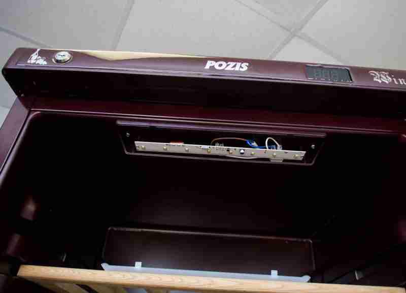 POZIS Wine Ш-120 и ШВ-52 светодиодное освещение
