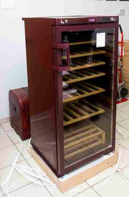 винный шкаф POZIS Wine ШВ-120 вид сбоку фото 2