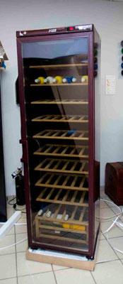 винный шкаф POZIS Wine ШВ-120 вид спереди фото