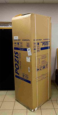 винный шкаф POZIS Wine ШВ-120 в заводской упаковке фото