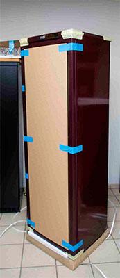 винный шкаф POZIS Wine ШВ-120 вид с задней стороны