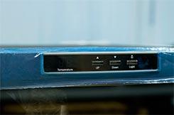 винный шкаф Ecotronic WCM 16TE панель управления фото 1