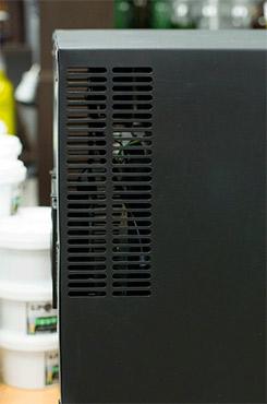 винный шкаф Ecotronic WCM 16TE вентиляция фото