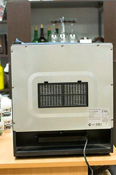 винный шкаф Ecotronic WCM 16TE вид сзади