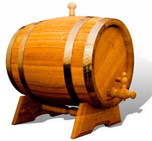 дубовая бочка для вина фото