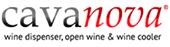 логотип производителя шкафов для вина Cavanova