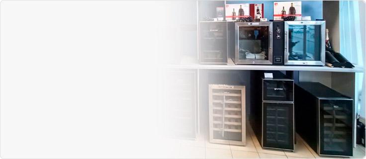 Салон винных шкафов Винкейс в С-Пб