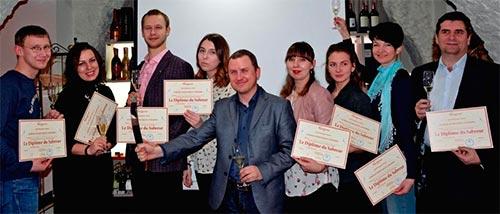 выпускники винной школы Марин Экспресс фото