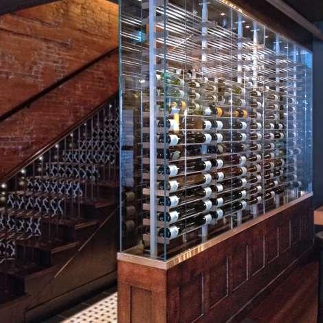 стеклянная витрина для вина фото 17