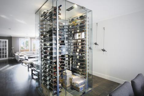 витрина для вина фото 18