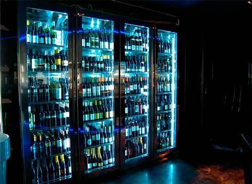 витрина для вина фото 5