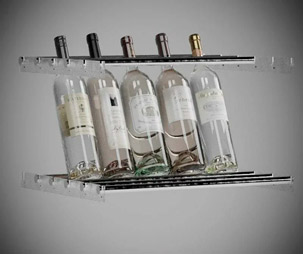 наклонное хранение бутылок фото 1