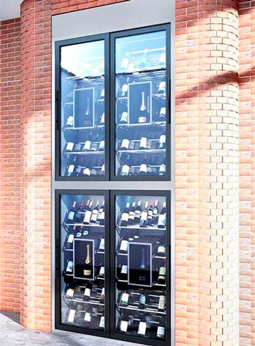 винная витрина собственной разработки фото 4