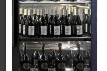 Система вертикального хранения винных бутылок фото
