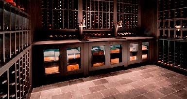 Винные стеллажи из дерева Genuwine Cellar фото