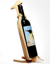 стеллаж подставка для бутылки вина пингвин Conte Bleu фото