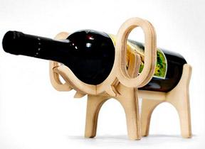 стеллаж подставка для бутылки вина слон Conte Bleu фото