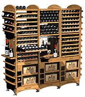 Модульный стеллаж для вина Eurocave фото