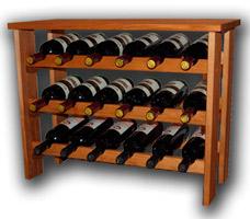 стеллаж для 18 бутылок фото