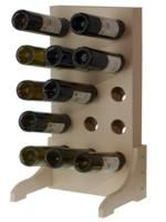 настольный стеллаж для винных бутылок фото