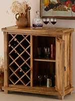 Барный стеллаж для хранения винных бутылок фото