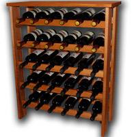 винная стойка на 30 бутылок фото