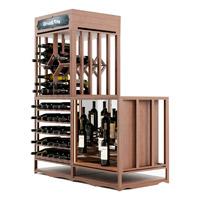 Модульный винный стеллаж фото 8